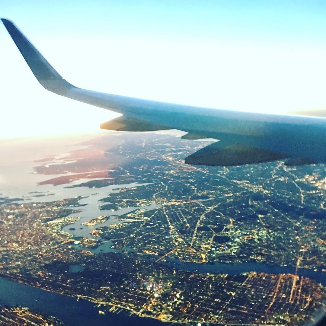NYC! Wish we could stay longer