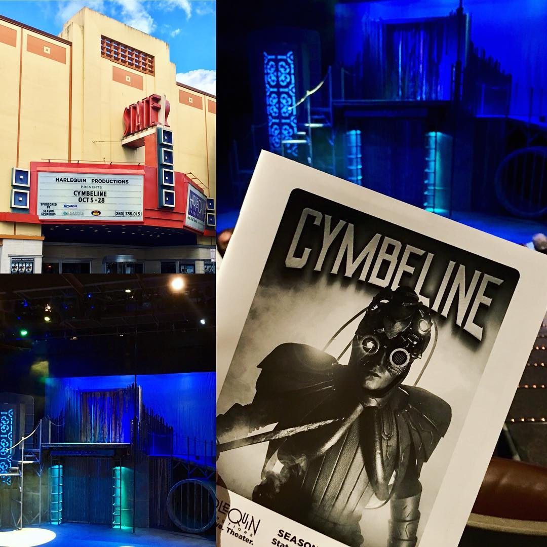 Steampunk Cymbeline at Harlequin Productions was amazing Go see ithellip