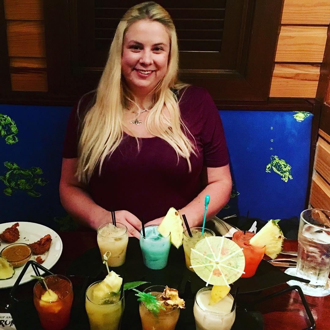 So much birthday rum!